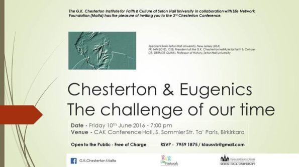 Chesterton _Conference