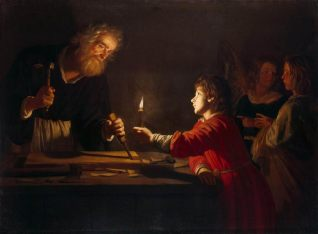 Honthorst, Childhood of Christ c1620.jpg