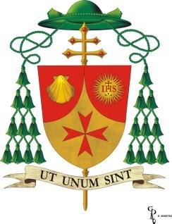 L-istemma tan-Nunzju Appostoliku l-Arċisqof Mons. Alfred Xuereb