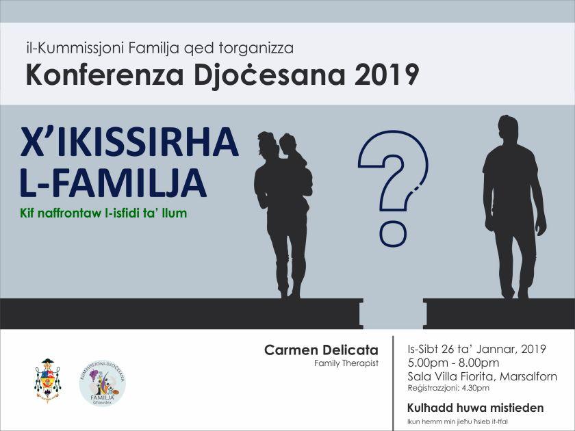 Konferenza 2019 8x4ft