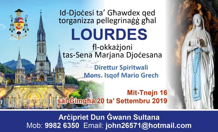 Lourdes Poster
