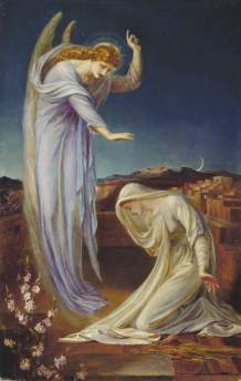 The Annunciation 1894 Frederick James Shields[1]