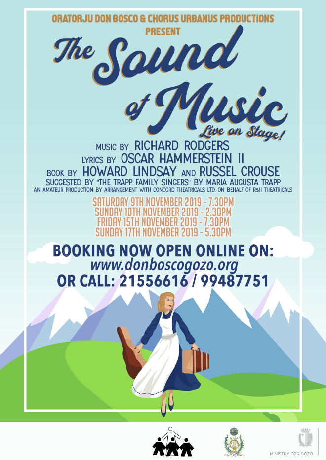 The Sound of Music with onlinebooking