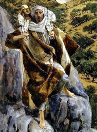 James Tissot, Le bon pasteur-Brooklyn Museum